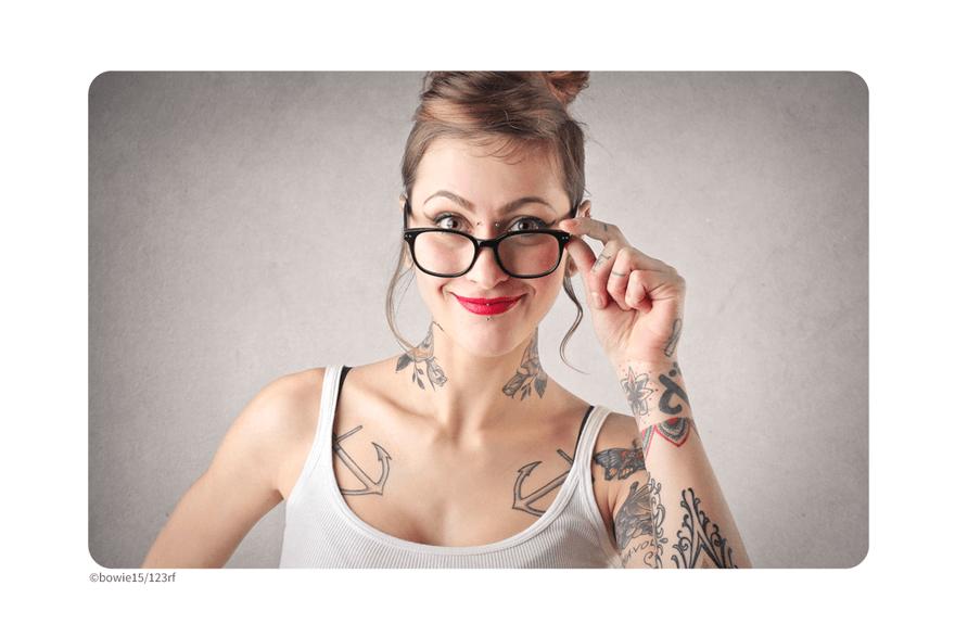 Sind Tattoos im Job noch ein Problem?